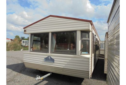 WILLERBY COUNTRYSTYLE 35FT X 12FT REF 2636 DOUBLE GLAZED ,ELECTRIC PANEL HEATING