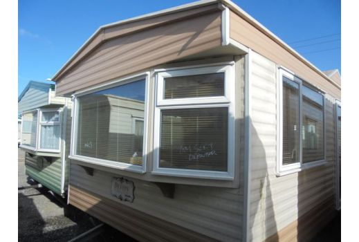 COSALT DEVON 35FT X 12FT REF 2563 DOUBLE GLAZED AND CENTRALLY HEATED 2 BEDROOMS