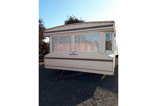 Willerby Chelsea, 35ft x 12ft, 3 bedrooms.  Very good condition throughout. Ref: B4111