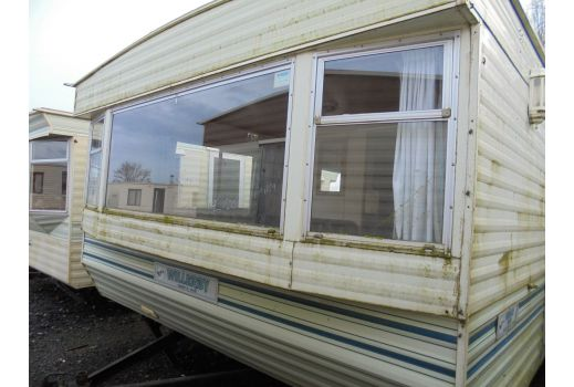 Willerby Herald, 35ft x 12ft, 2 bedrooms. Jack & Jill bathroom to master. Ref: B082