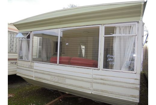Cosalt. 12ft caravan. 3 bedrooms. Separate toilet. Ref: B078
