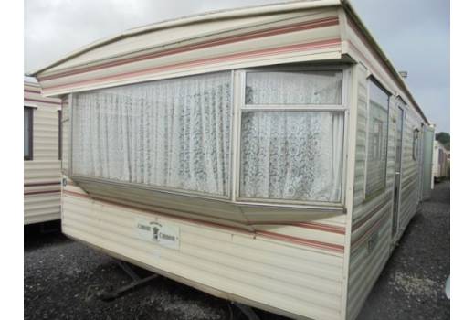 Carnaby Siesta, 28ft x 12ft, 2 bedrooms.  Good condition throughout.  Ref: 2211.