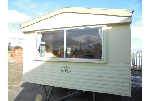 Atlas Sahara Super, 35ft x 12ft, 3 bedrooms. Double Glazed doors. Ref: B149