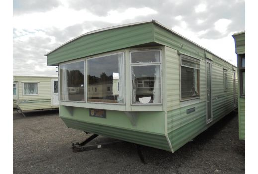 Atlas Applause Super static caravan.  35ft x 12ft.  Ref: B3006.