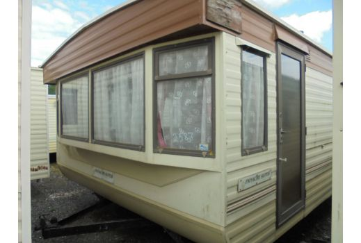 Atlas Panache static caravan.  28ft x 12ft.  Ref: 2587