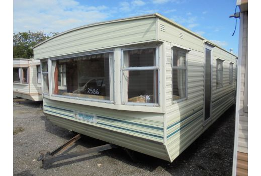 Willerby Herald static caravan.  2 bedrooms.  Ref: 2586.