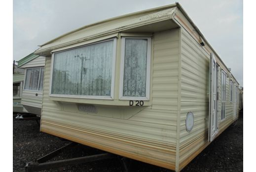 Cosalt Monaco Super, 37ft x 12ft,  2 bedrooms.  DG/CH.  Excellent condition throughout. Ref: C3014