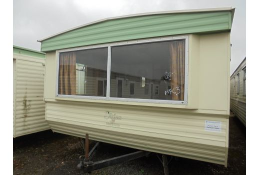 Atlas Fanfare Super, 35ft x 12ft, 3 bedrooms.  Very good condition throughout. Ref: B3013.