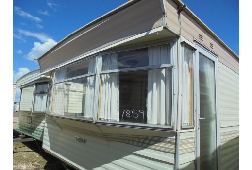 Carnaby Crown, 35ft x 12ft. 2 bed.  Ref: 1859