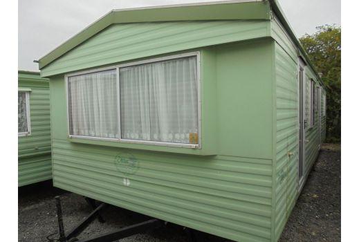 Atlas Oasis Super static caravan.  32ft x 12ft.  2 bedrooms.  Excellent condition throughout.  Ref: C4017.