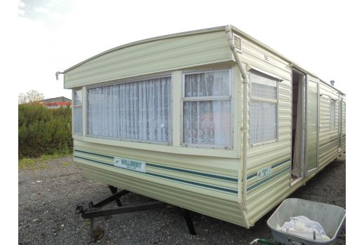Willerby Herald static caravan.  32ft x 12ft.  2 bedrooms.  Ref: B4038