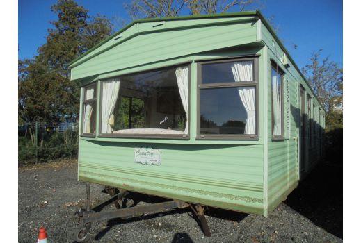 Cosalt County Super, 35ft x 12frt, 2 bedrooms.  Ensuite. Excellent condition throughout. Ref: C4125