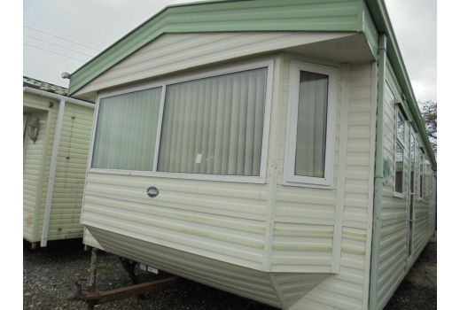 ABI Brisbane, 35ft x 12ft, 2 bedrooms.  Double Glazed. Central Heating. Ref: C4290