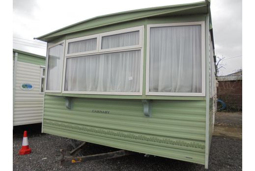 Carnaby Freestyle, 35ft x 12ft. 3 bedrooms. Double Glazed. Central Heating. Ref: C4291