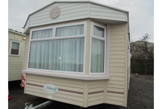 Atlas Image Super, 35ft x 12ft, 2 bedrooms. Double Glazed. Blown Air Heating. Ref: C4287