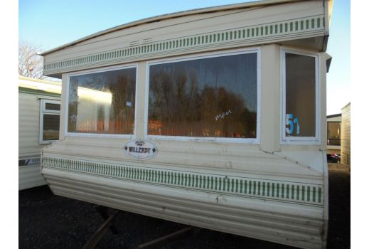 Willerby Salisbury, 35ft x 12ft, 2 bedrooms.  Central Heating. Ref: B4363