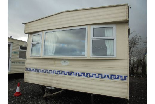 ABI Supreme, 34ft x 12ft, 2 bedrooms. Central Heating. Double Glazed. Ref: C4364