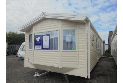 Willerby Rio Gold, 35ft x 12ft, 2 bedrooms. Double Glazed & Central Heating.  Ref: 2616.