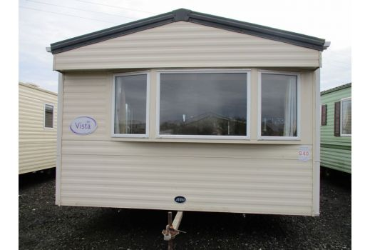 ABI Vista, 35ft x 12ft, 2 bed. Double Glazed. Central Heating. Ensuite. Ref: C433
