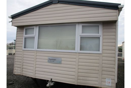 Normandy Thornham, 35ft x 12ft, 2 bed. Double Glazing. Central Heating. Ensuite. Ref C434.