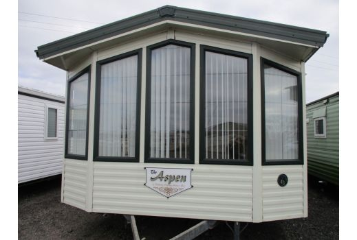 Willerby Aspen, 37ft x 12ft, 2 bed.  Double Glazed. Central Heating.  Immaculate!  Ref: C449