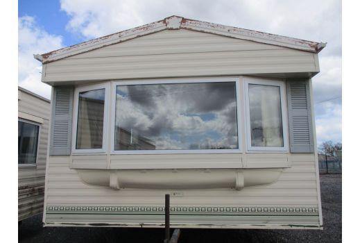 BK Bluebird Caprice, 35ft x 12ft.  2 bedrooms. Ensuite.  Double Glazed. Central Heating.  Ref: C497