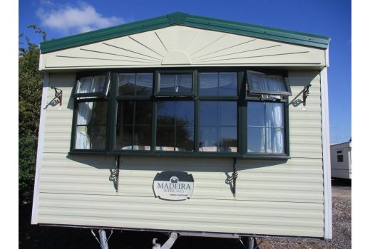 Cosalt Madeira, 36ft x 12ft. 3 bedrooms.  Double Glazed. Central Heating. 2 toilets. Ref: C502