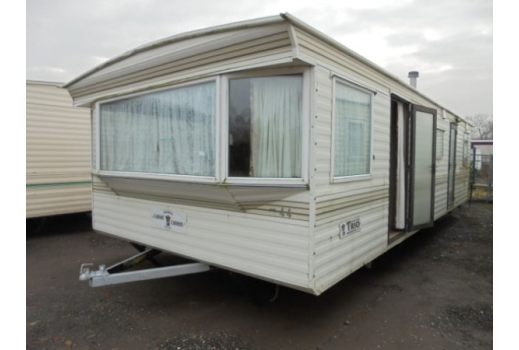 Carnaby Trio, 28ft x 12ft, 2 bedrooms. Good condition throughout. Ref: 1954